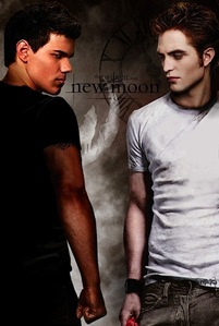 I'd say Team EDWARD!!! But, only in the book cause he sounds hot!! Then there's Jacob. Now I'd say Team Jacob cause the way he is in the movie!!