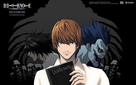 Kira/Light from Death Note!!!