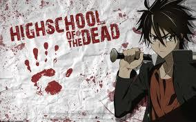 I think High school of the dead is the most violent animê I ever saw..
