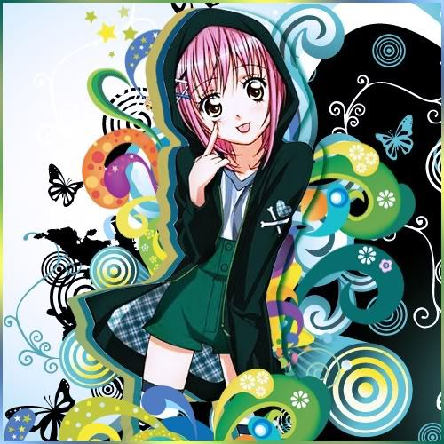 Amu Hinamori from Shugo Chara Why? She's got her own style and she's too darn adorable :3 who doesn't like a pinkhaired heroine? xD