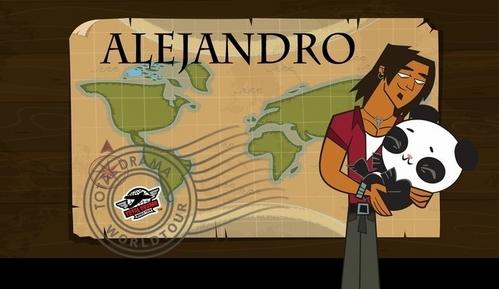 Alejandro from Total Drama World Tour. how.fucking.sad -.-