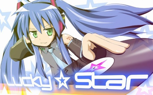 Konata as hatsune miku, she isnt my fave charater tho