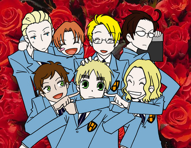 hetalia - axis powers HIGH SCHOOL HOST CLUB. 8D <3