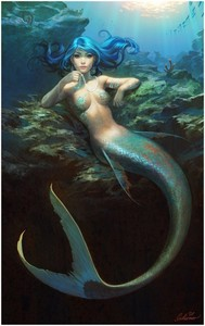 Here is the mermaid I chose :)