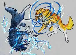 Baritone and Sasuke as wolves. :) | | | | | V