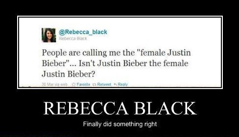 Rebecca. I have a feeling we might get along...