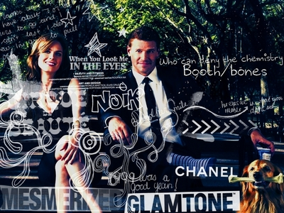 Bones and Booth :) from Bones