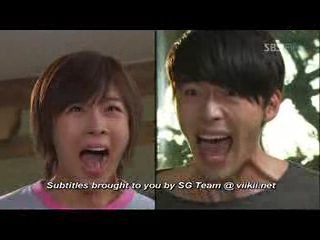 Hyun Bin and Ha Ji Won