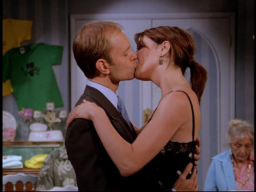 Niles and Daphne. <3