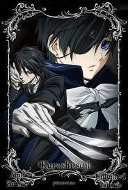 kuroshitsuji/black butler 1 and 2 and i bet 3 is ganna be kinda sick XD elfen lied vampire knight death note code geass hell girl and madami but i really can't think right now..... -.- (kuroshitsuji)