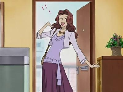 I had to pick either Haruhi Fujioka or her father both from the awesome anime, Ouran High School Host Club... sooo this is Haruhi's dad, which is a pro cross-dresser as his job(I think)... yeah, thats a dude