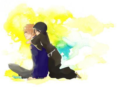 Ichigo and Rukia!