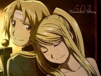 Winry & Edward
