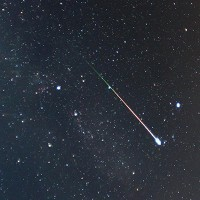 Look up!!!!^ Yeah! Shooting star,You are allowed to use a wish right now.