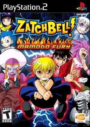 have you play the game zatch bell mamodo fury also for game cube