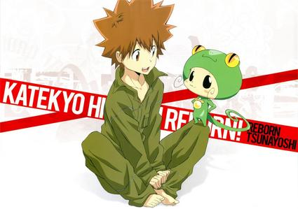 Katekyo Hitman Reborn! (sub. only) Sgt. Frog (dub) Keroro Gunso (sub) Zatch Bell! (dub) madami clean than japanese ver. Doraemon (sub. only)