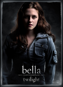 Twilight because she is just amazing,When toi read twilight she is just the image of her I <3 Kristen Stewart shes Amazing <3