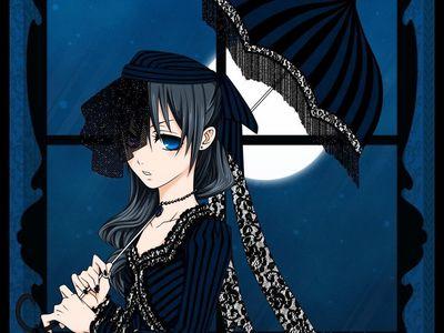 ciel Phantomhive from black butler XD