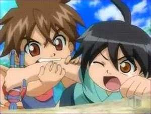 Dan Kuso & Shun Kazami They Fought Even As Kids! D: Poor Shun!
