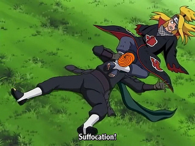 Deidara and Tobi ^^