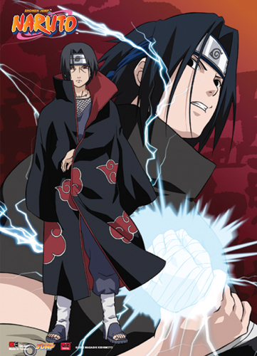 Itachi and Sasuke They were so close to each others and are brother