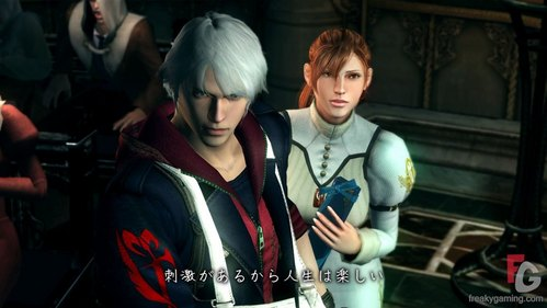 Nero and Kyrie from Devil May Cry!
