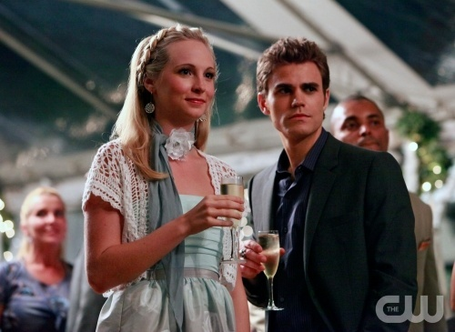 Stefan <3 Just because I amor their friendship and I think they'd make a cute couple :D