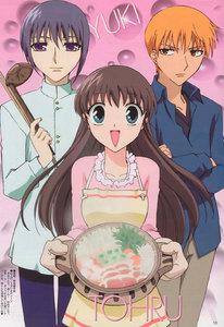 Kyo, Yuki and Tohru <3
