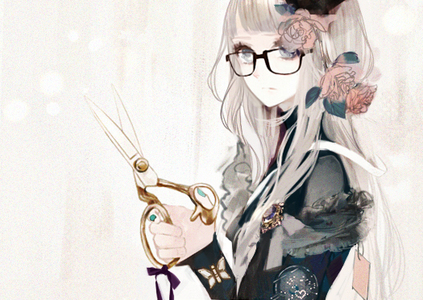 Post A Anime Girl Wearing Glasses Props Anime Antwort Fanpop