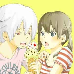 soul and maka!!:) they havent किस bt if they would that would be awesome(: