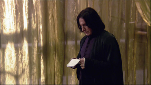 Severus/Alan, for sure !!! I can't help imagine Alan's sweetness wrapped in Severus' body... OMG ! Though Severus' 100% Dominant male side is a great appeal to me too.