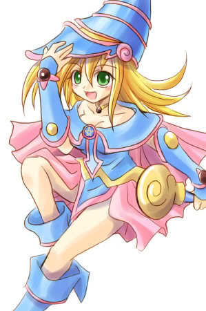 I want her to be equivalent to Dark Magician Girl.