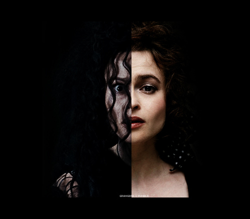 Helena dressing as Bellatrix It will be awesome