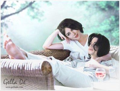Do u think that MJ had a girlfriend before he died?