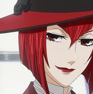 I don't know if anyone has put this yet, but...Madame Red from Black Butler! Bright, bright red... XD