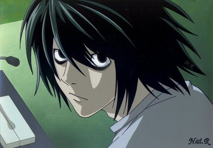L from Death Note... He is AMAZING.