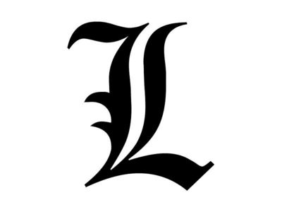 "Yes! I'd love get the famous ""L"" letter. And it wouldn't be to weird. Non-Death Note fans could just think it stands for my real name as it also begins with L."