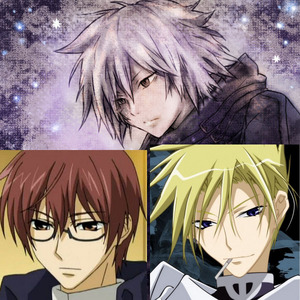 i want to meet Frau and Castor from 07 Ghost and Gauche Suede from Tegami Batchi(Letter Bee)