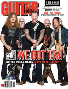 i have like 12 fave bands the guys in the pic are from Metallica megadeth slayer and anthrax