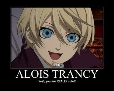 I think Alois is absolutely adorable :3
