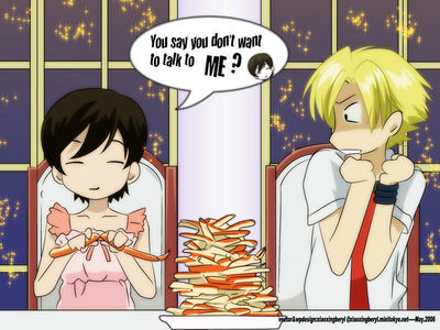 Haruhi fujioka ia my favorate from ouran highschool host club