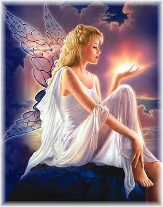 She's like a fairy! Sprinkling joy, beauty & magic all around!