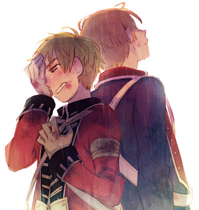 Hetalia... I have no idea why, but every time I see a picture of the America and England together during the Revolutionary War I feel like crying...