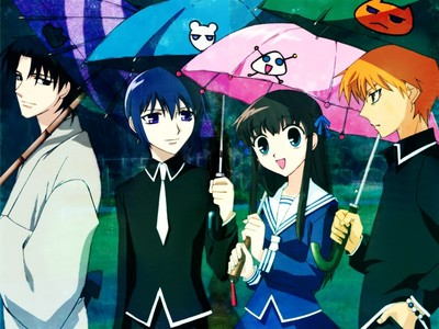 fruits basket in the rain.