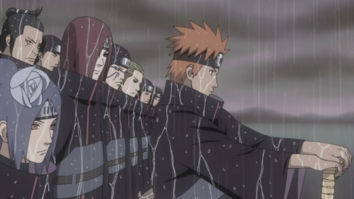 Nagato, Yahiko, and Konan