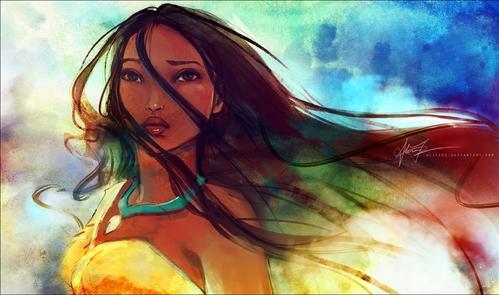 Pocahontas is sooo pretty