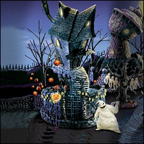 ... picture of jack's house - Nightmare Before Christmas Answers - Fanpop