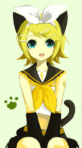 Rin Kagamine from Vocaloid