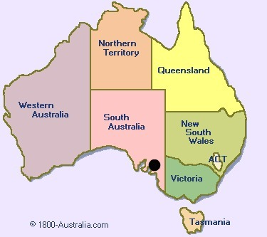 Where the black dot is, i have lived in Adelaide all my life,