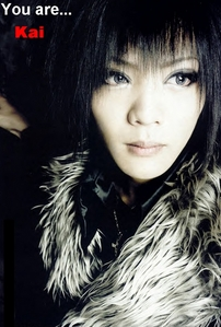 i got my favori member! ^,..,^ You're Kai!!! The responsible le batteur, batteur for the band The Gazette! You're a sweet, caring and almost motherly person. toi take care of your Friends and family, who toi hold dearly, however toi can, no matter what. toi ALWAYS get things done, even if toi have to go into a coma for that to happen. toi always put other people's happiness before your own, despite how badly it could turn out for you. toi barely even fight back in an argument ou a fist fight... You're a rather forgetful person, and your Friends usually have to remind toi of things. Them telling toi to remember to grab your phone from the Taxi is just their way of expressing their l'amour for you. You're Kai, le batteur, batteur for The Gazette